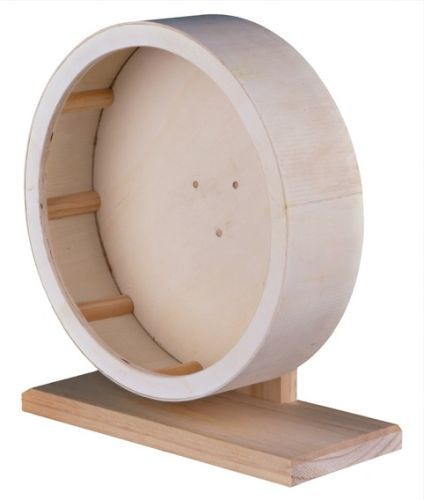 Holzlaufrad für Hamster und Degus, ø 28 cm
