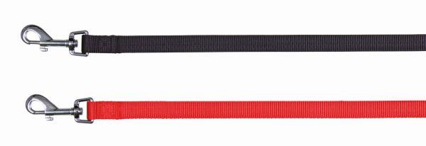Classic Leine, M-L: 1,00 m/20 mm, schwarz